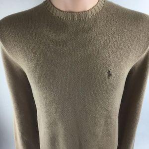 POLO RALPH LAUREN Pullover Beige Crewneck Sweater